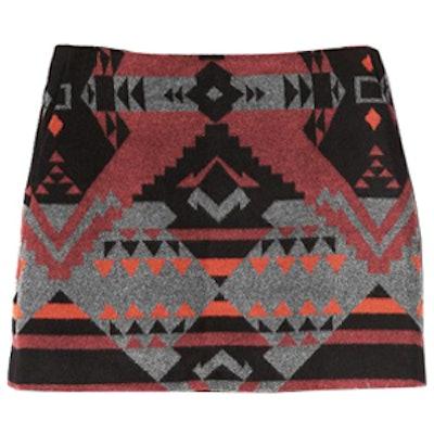 Southwestern Mini Skirt