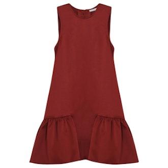 Ella Ruffle Hem Dress