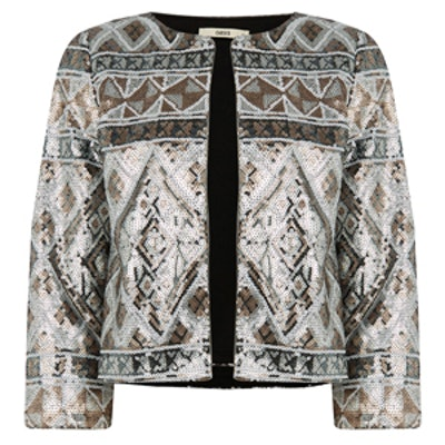 Aztec Sequin Jacket