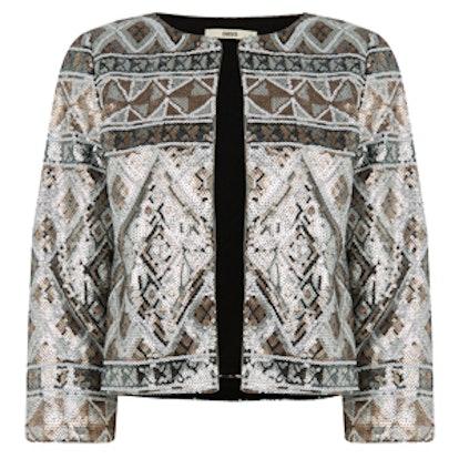 Aztec Sequin Jacket