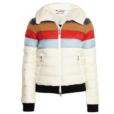 Queenie Quilted Shell Down Ski Jacket
