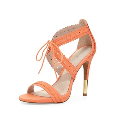 Shanna Crisscross Leather Sandal