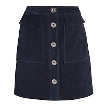 Damas Suede Mini Skirt