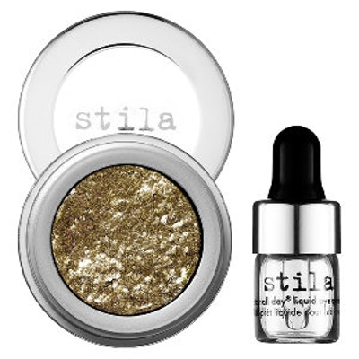 Magnificent Metals Foil Finish Eye Shadow in Vintage Black Gold