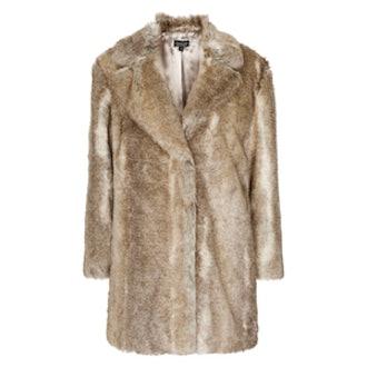 Faux Fur Tawny Coat