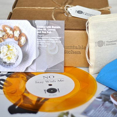 Recipe & Record Of The Month Subscription Box