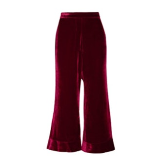 Lazio Velvet Flared Pants