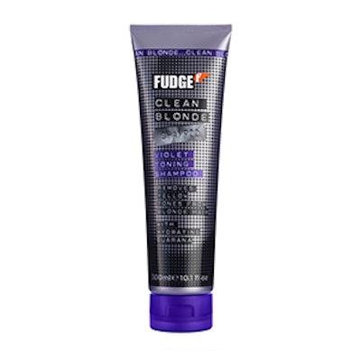 Fudge Clean Blonde Violet Shampoo