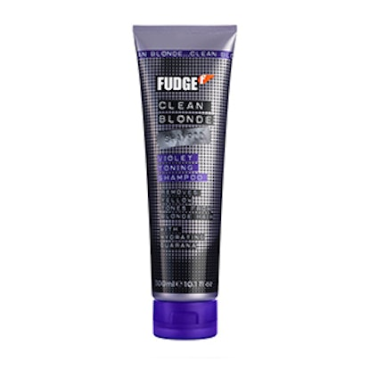 Fudge Clean Blonde Violet Shampoo