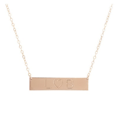 Rose Gold Alter Ego Pendant Necklace