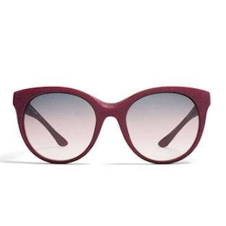Antheia Burgundy Sunglasses