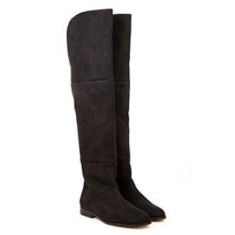 Black Over Knee Boot