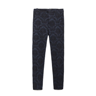 Printed Jacquard Trousers