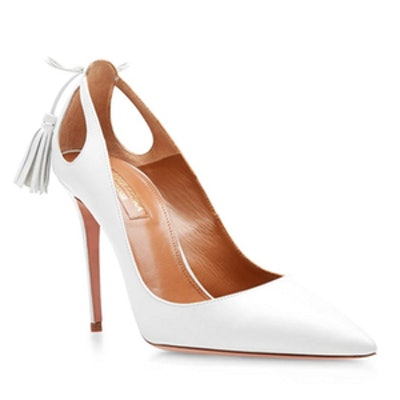 Forever Marilyn White Pumps