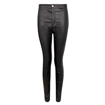 Lara Leather Look Trousers