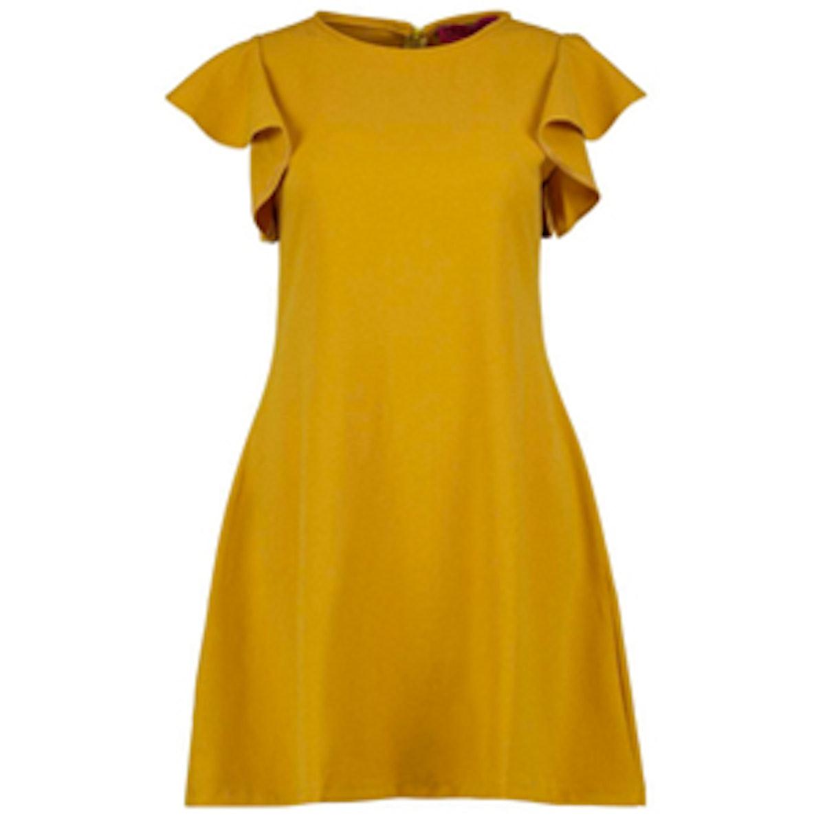 Sophie Frill Sleeve Shift Dress