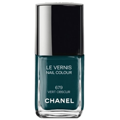 Le Vernis Nail Polish in Vert Obscur
