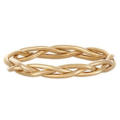 Woven Gold Band
