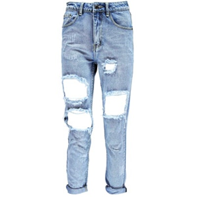 Extreme Ripped Boyfriend Jeans