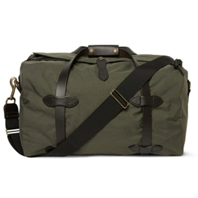 Small Canvas Duffle Bag