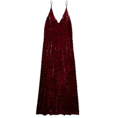 Velvet Lengths Maxi Slip Dress