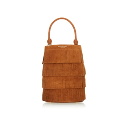 Fringed Suede Tote