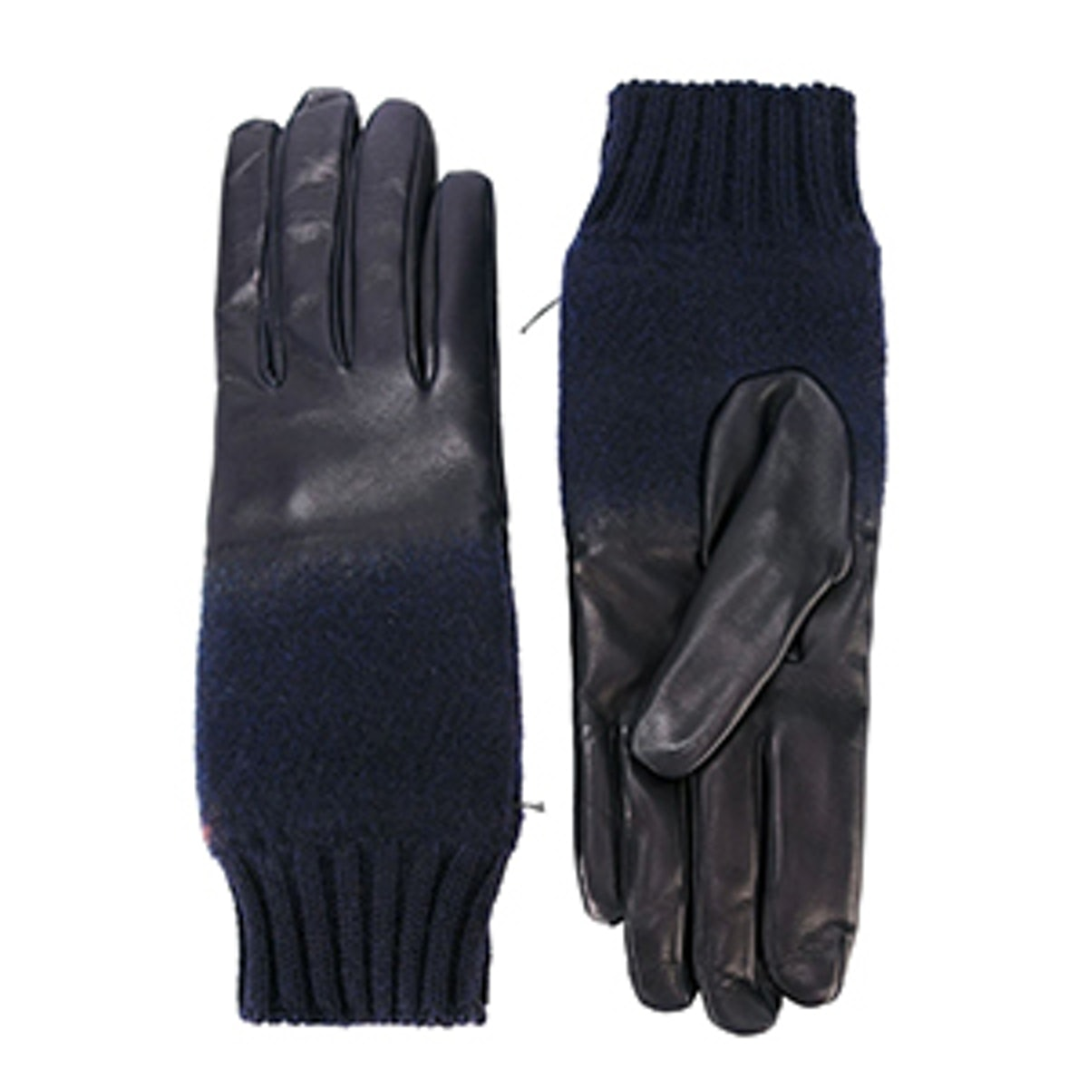 Leather and Wool Gloves