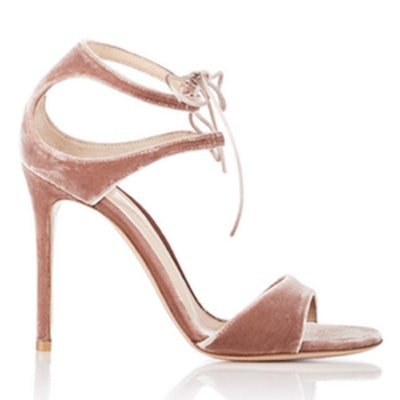 Velvet Darcy Double-Strap Sandals