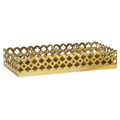 Gold Desk Tray