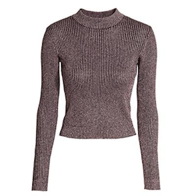 Short Turtleneck Sweater