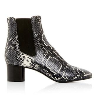 Danae Python Printed Boots