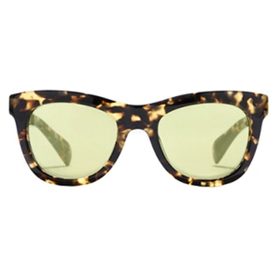 Betty Sunglasses in Tortoise Mirror