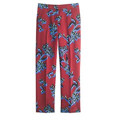 Vibrant Wildflower Patio Pant