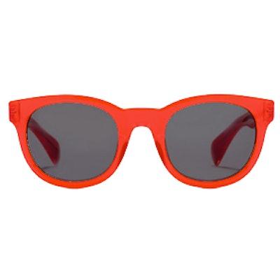 Sam Sunglasses in Neon Persimmon