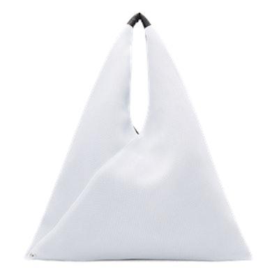 White Mesh Tote