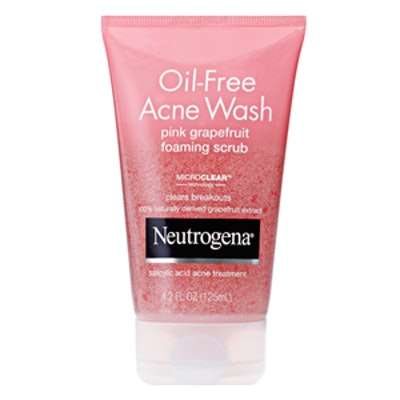 Pink Grapefruit Foaming Scrub