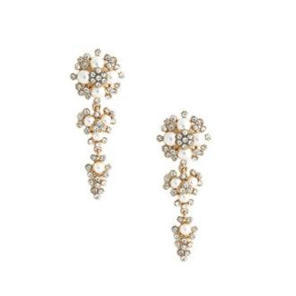 Pearl Cluster Chandelier Drops