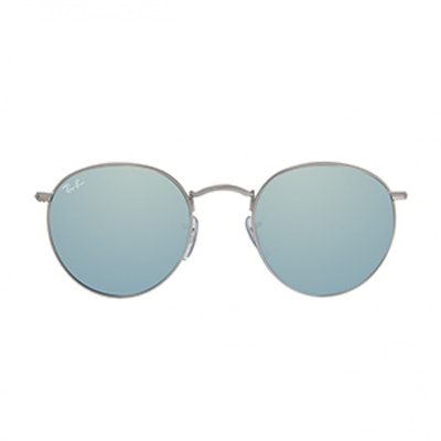 Round Flash Sunglasses
