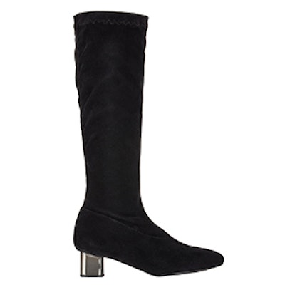 Suede Pitar Knee Boots