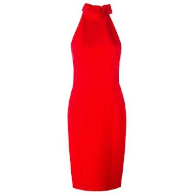 Halter Neck Fitted Dress