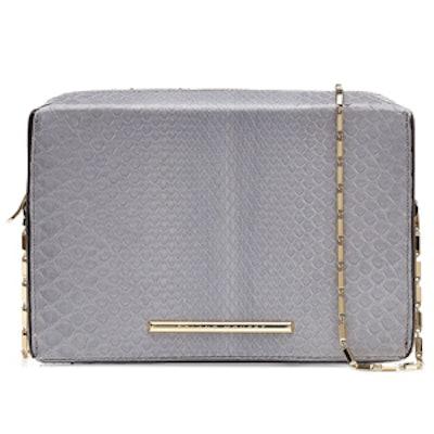 Python Leather Shoulder Bag