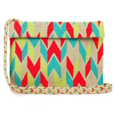 Alma Woven Crossbody Bag