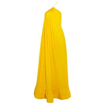 Astrid Silk-Crepe Gown