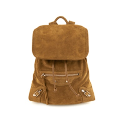 Classic Traveler Suede Backpack
