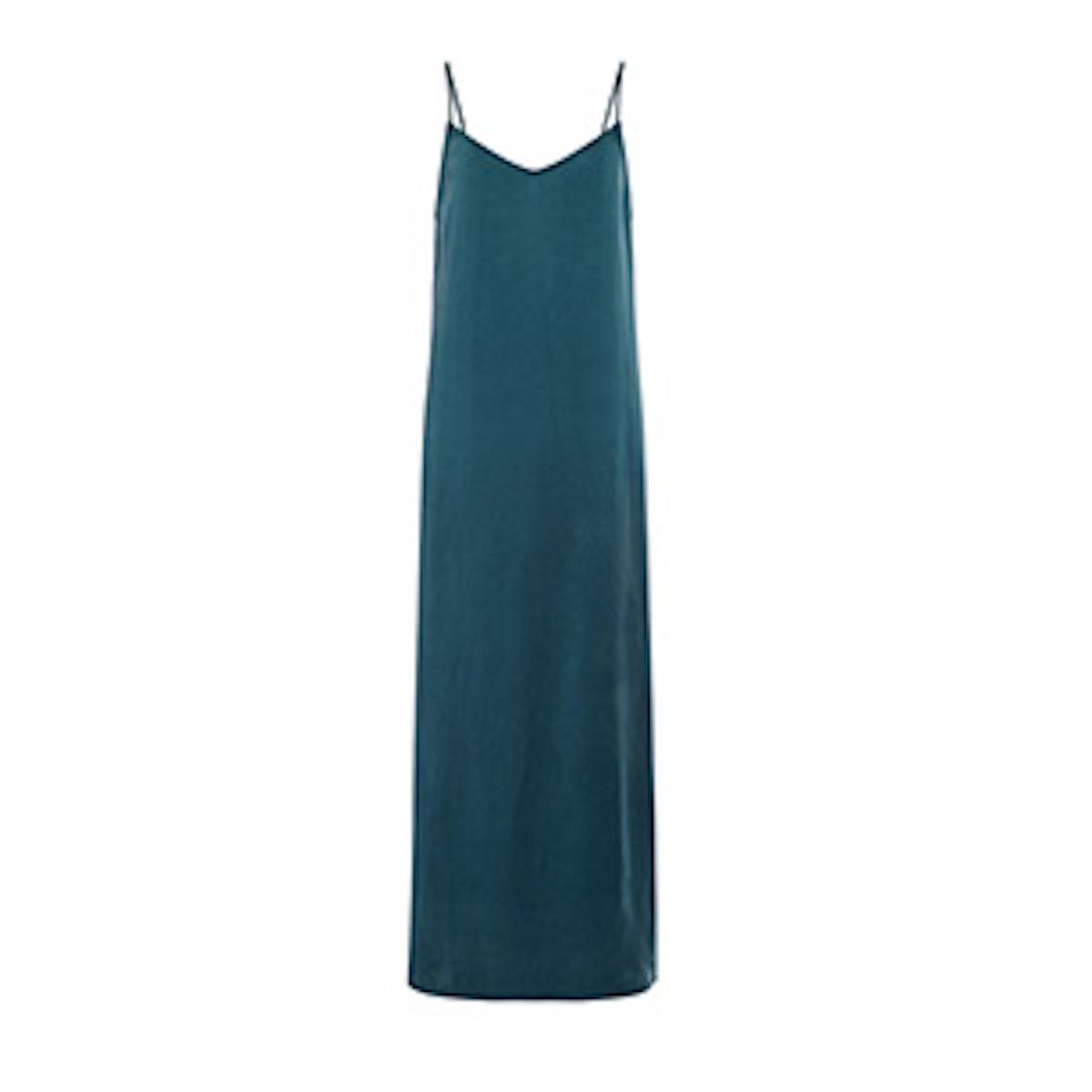 Aqua Slip Dress