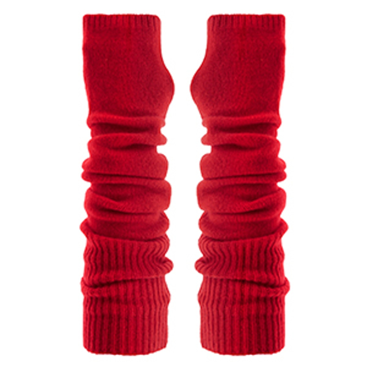 Wool and Cashmere-Blend Arm Warmers