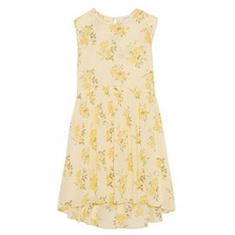 The Sleeveless Sunday Floral Dress