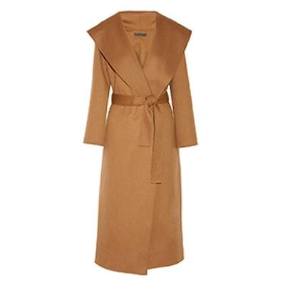 Muna Oversized Wool Wrap Coat