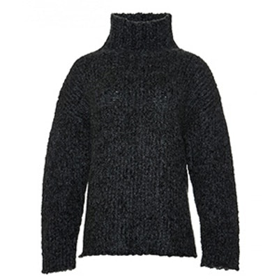 Turtleneck Chunky Sweater