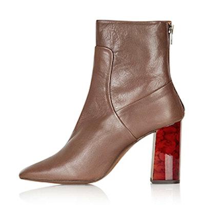 Master Tortoise Heel Boots
